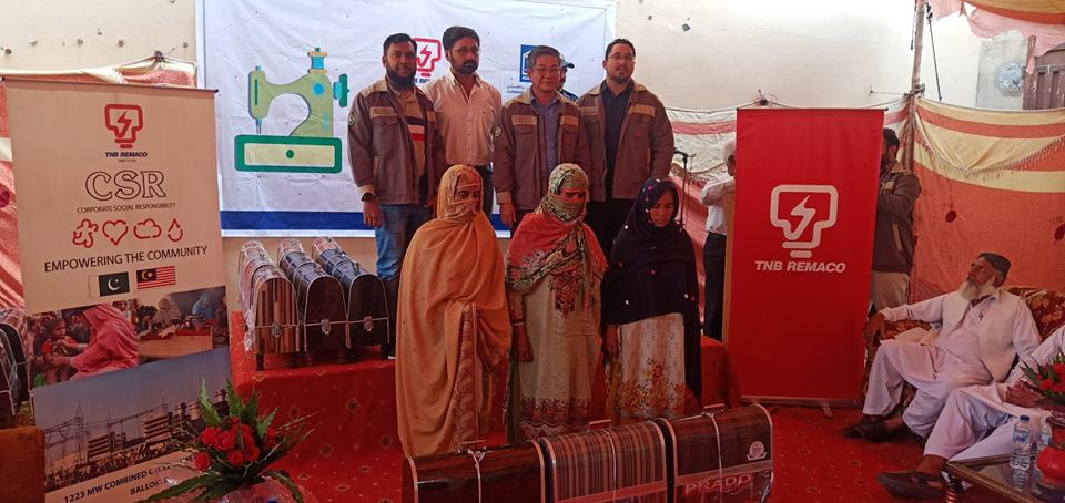 TNB REMACO O&M Balloki Power Plant, Pakistan telah bekerjasama dengan NGO