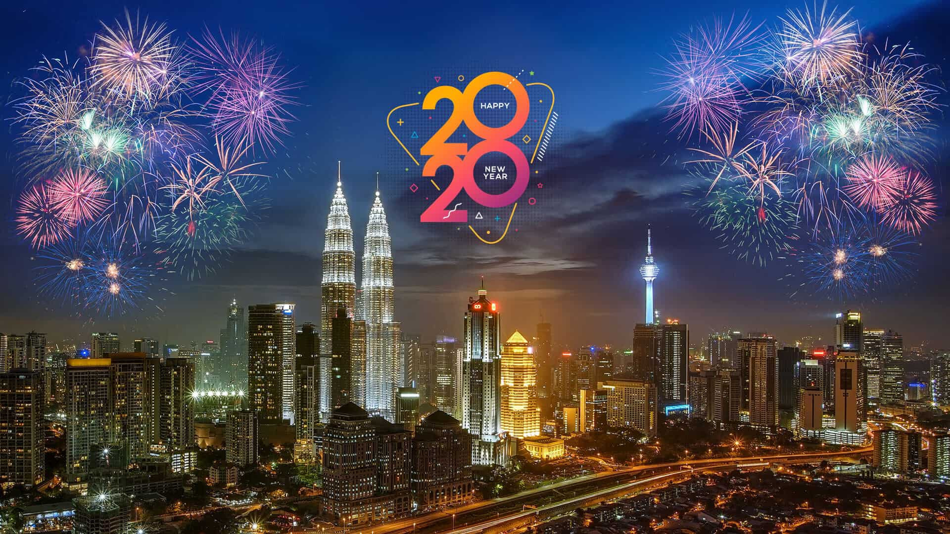 Selamat Menyambut Tahun Baru 2020