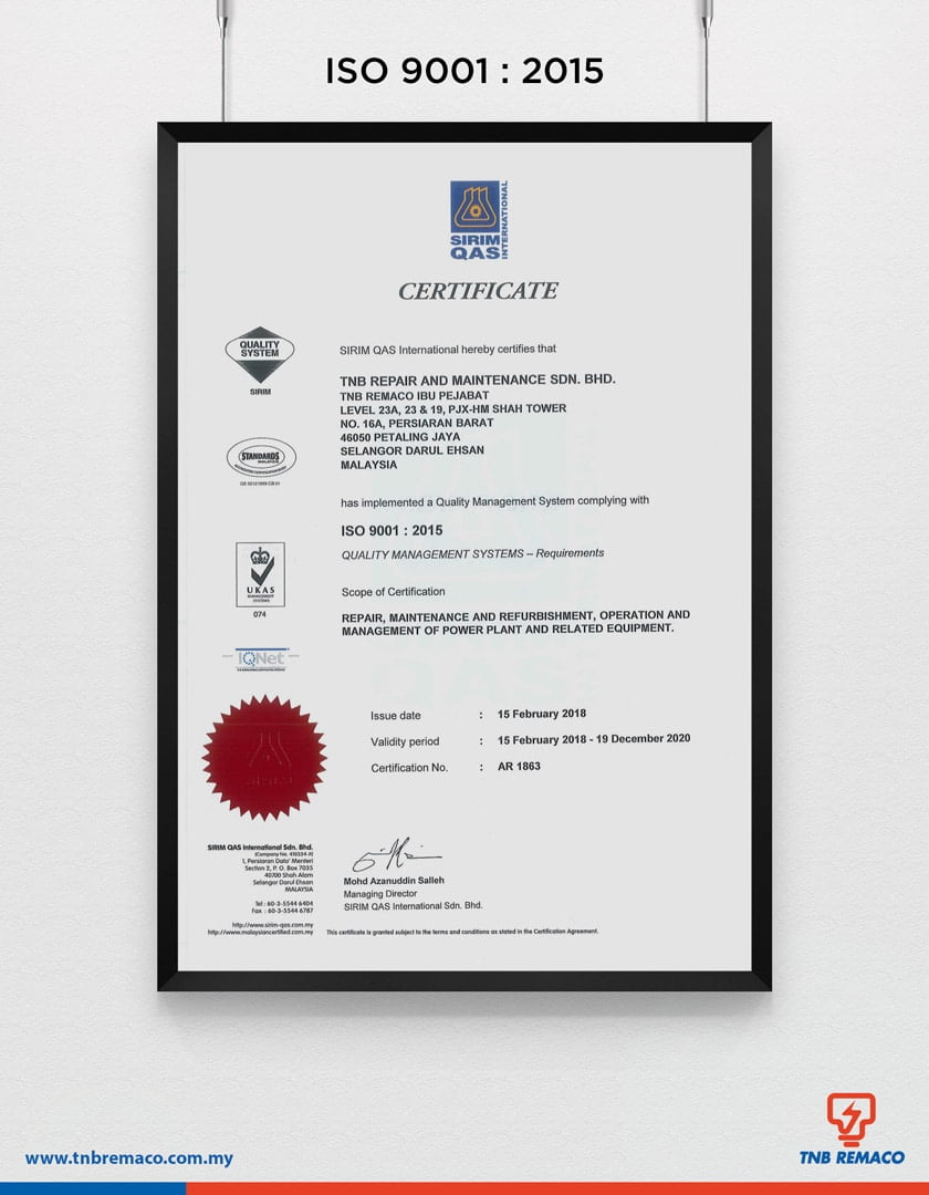 ISO 9001:2015 1