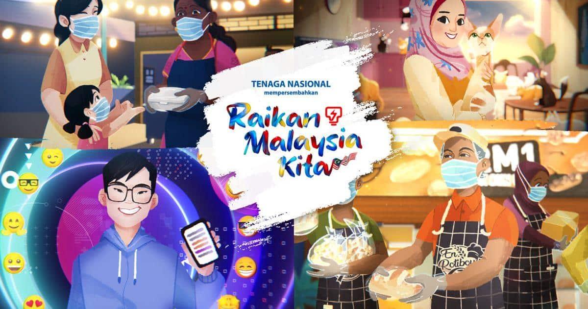 TNB MERDEKA 2021 – Raikan Malaysia Kita